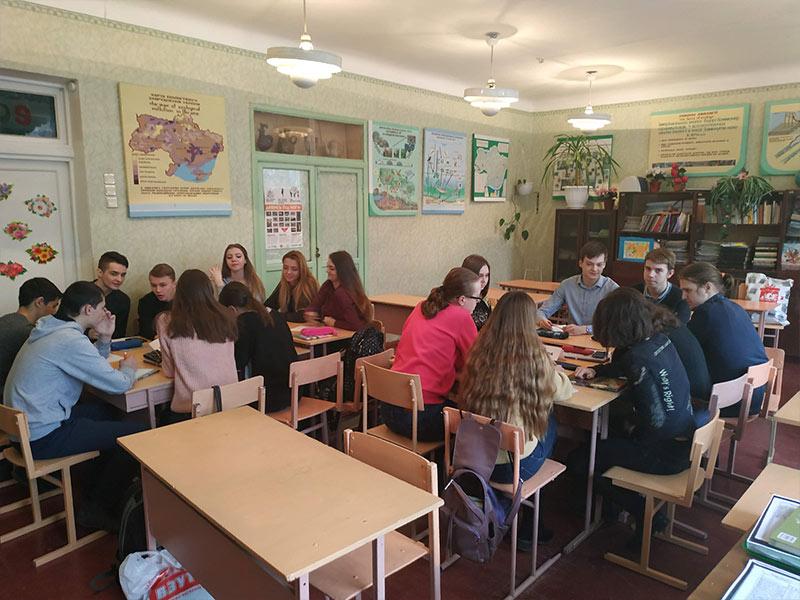 ТИЖДЕНЬ суспільно-гуманітарних наук, 72 школа, Запоріжжя