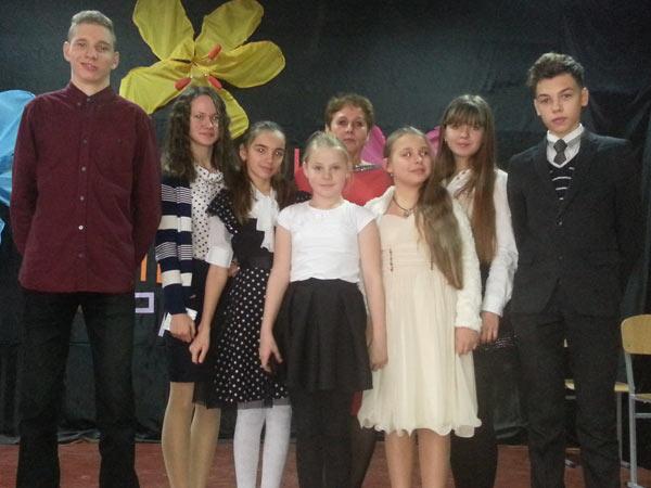 Фестиваль Англійської та американської пісні, 72 школы Запорожье