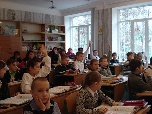 Третій день тижня початкових класів, 72 школа Запорожье