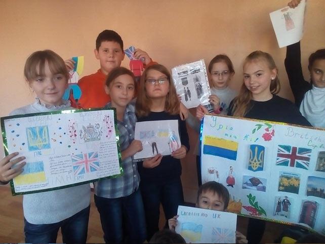 Тиждень іноземних мов, 72 школа Запорожье