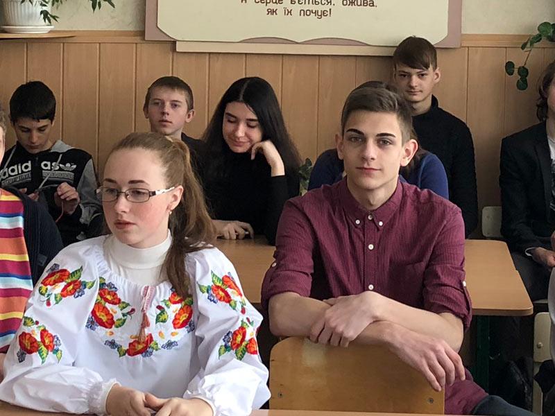 Літературної-мистецке свято, 72 школа Запоріжжя