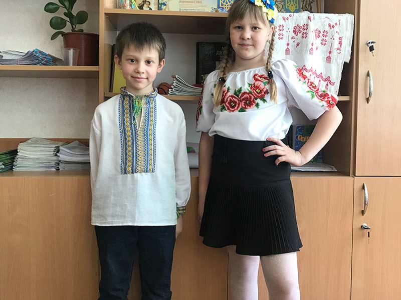 Святкування Всеукраїнського Дня вишиванки, ЗСШ-72